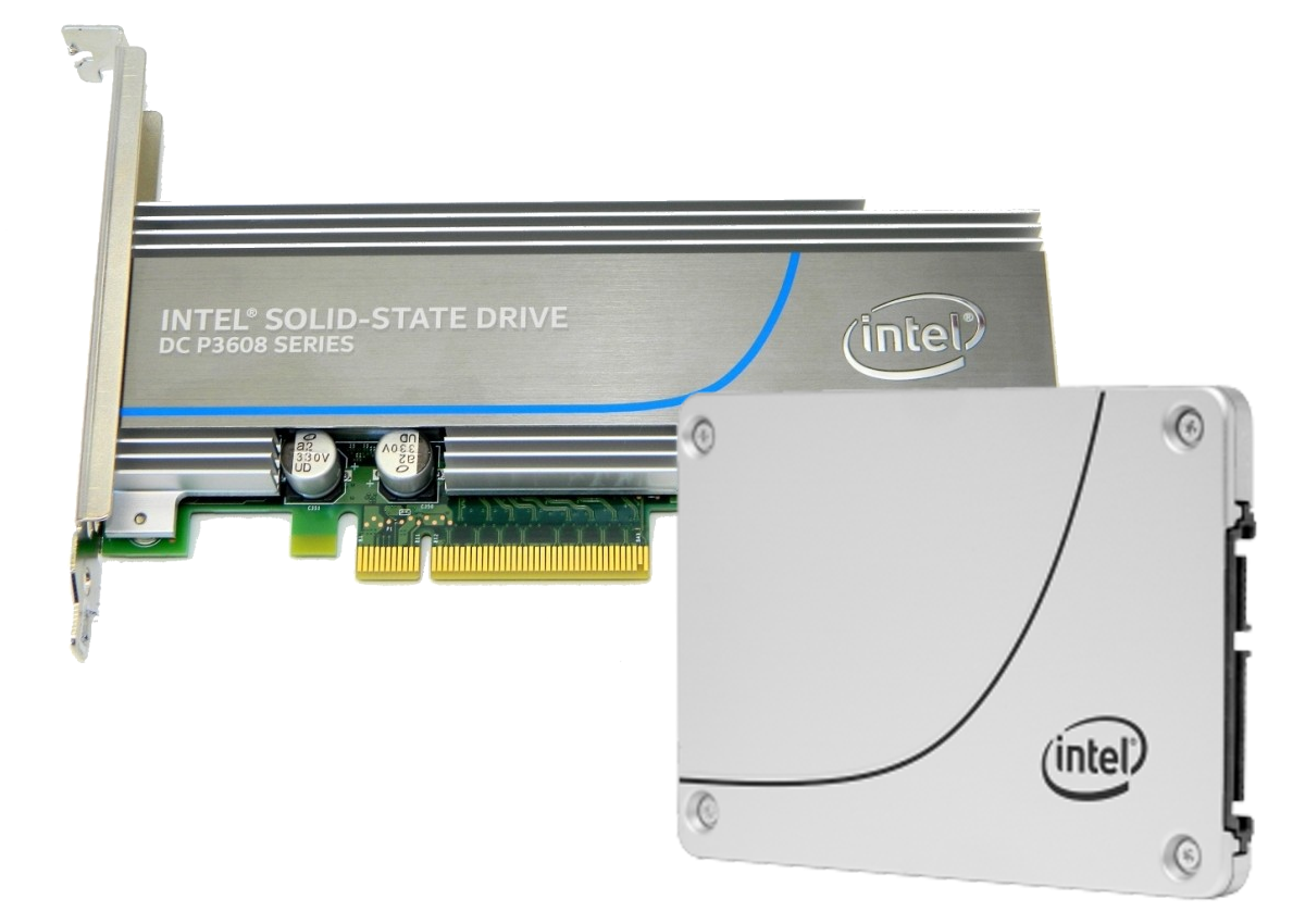 Picture of EOL Intel SSDs